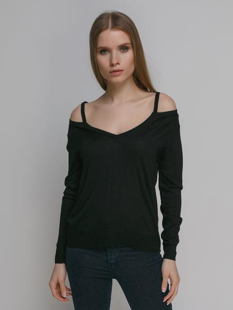 Джемпер чорний Zara 4874096