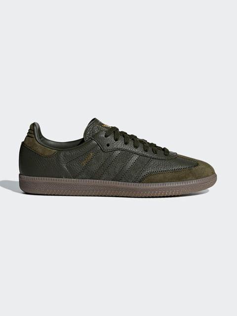Кроссовки цвета хаки Adidas Originals 4876899