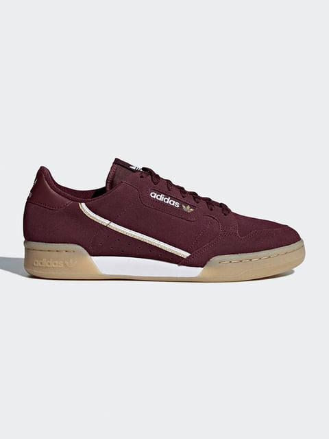 Кроссовки бордовые Adidas Originals 4895758