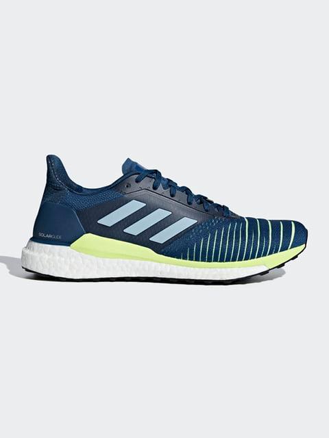 Кросівки сині Adidas 4895822