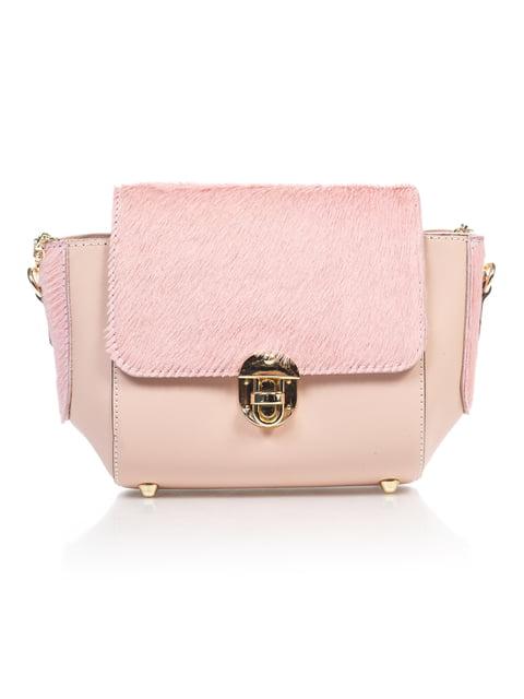 Сумка рожева Amelie Pelletteria 4897516
