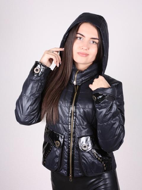 Куртка синьо-чорна Artua Collection 4902390