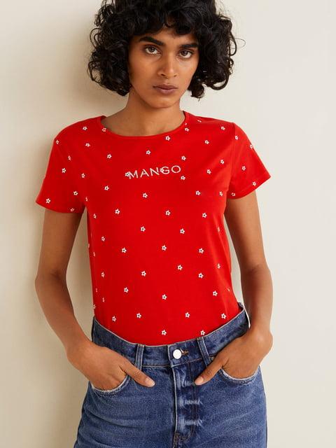 Футболка червона Mango 4902604