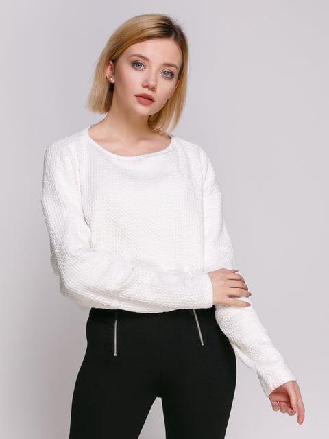 Джемпер білий Zara 4876281