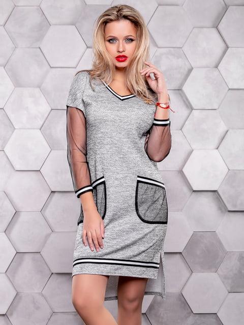 Сукня сіра Seventeen 4904631