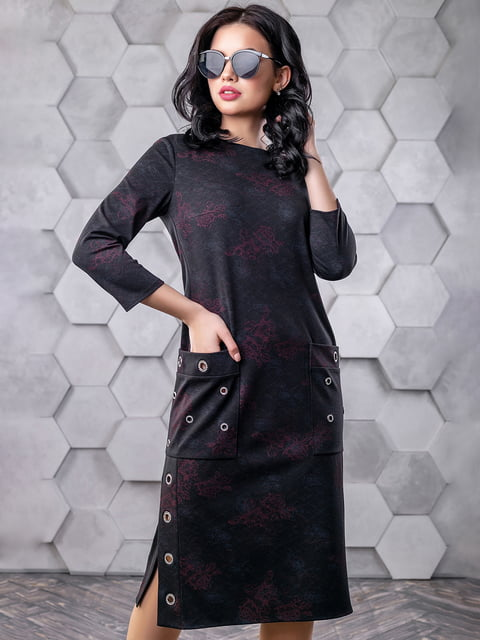 Платье черное Seventeen 4904654