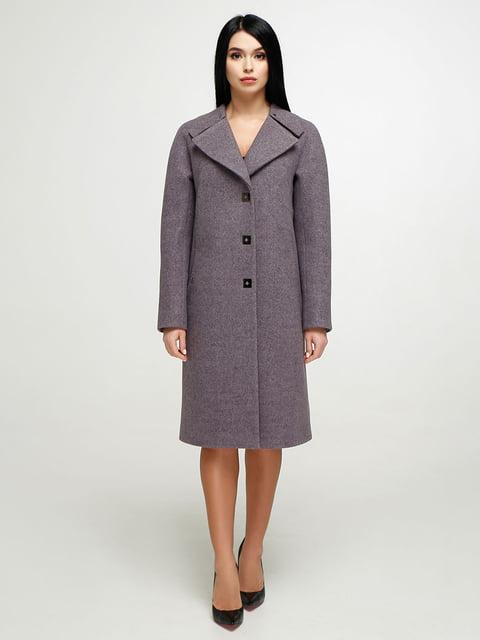 Пальто бузкове Favoritti 4904619
