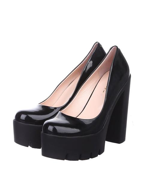 Туфли черные Lottini 4904729