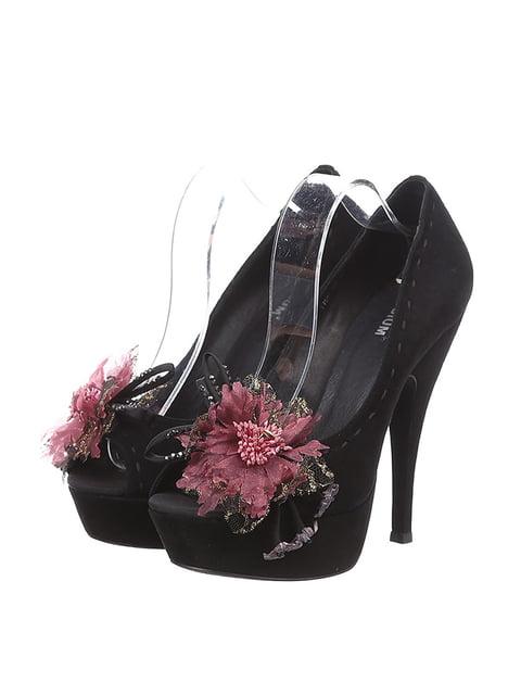 Туфли черные Bruni Podium 4904732