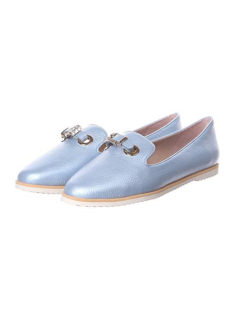 Балетки голубые Aimeini 4904771