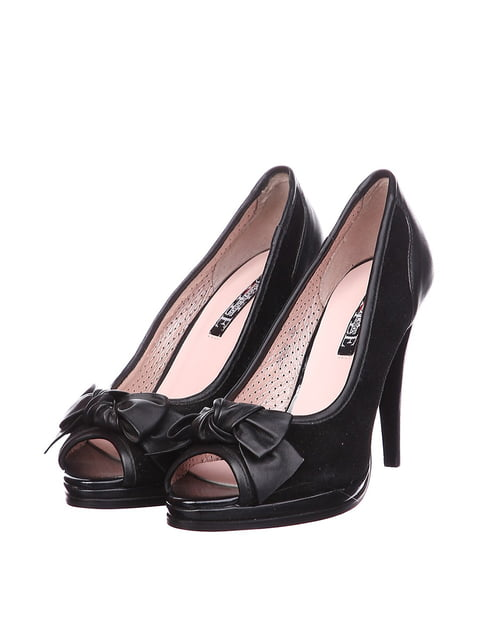 Туфлі чорні Sico 4904901