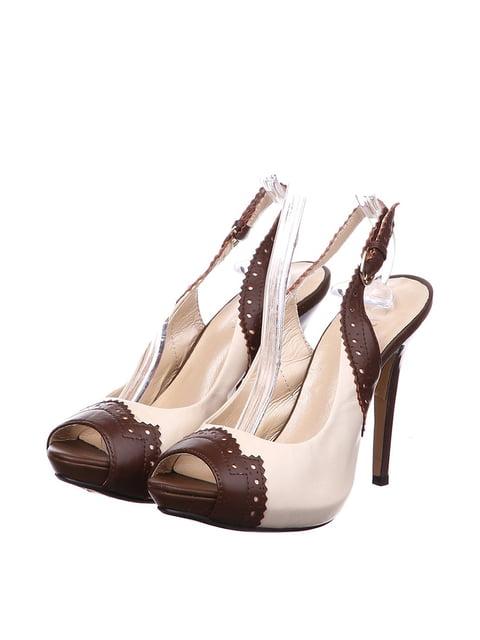 Босоножки бежево-коричневые Canna 4904903