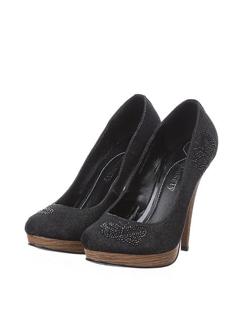 Туфли черные Marinety 4904912
