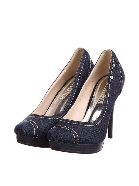 Туфлі сині Anona 4905016