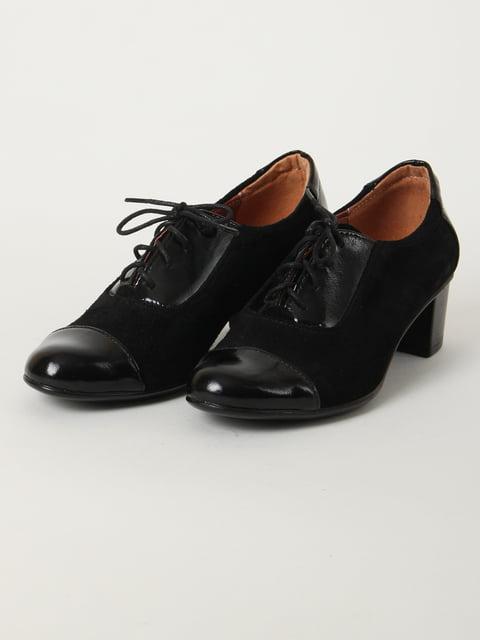 Туфли черные PELLA 4905169