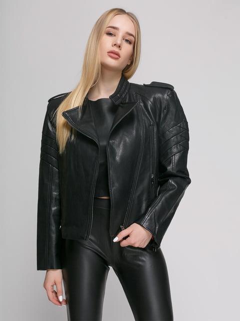 Куртка чорна Zara 4875959