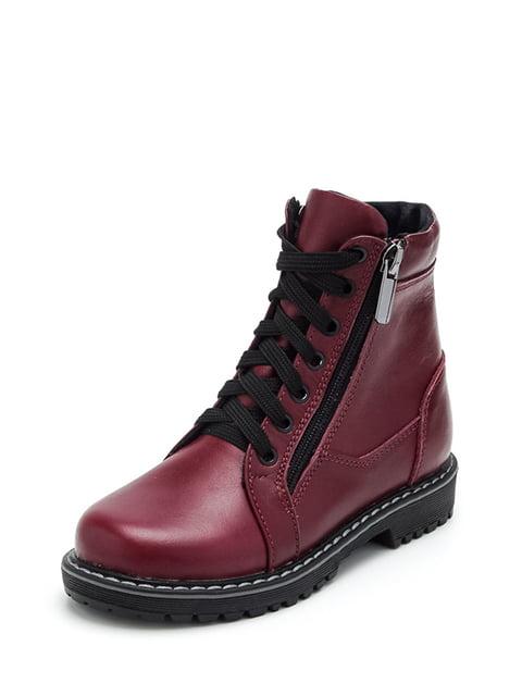 Ботинки бордовые Tops 4906140