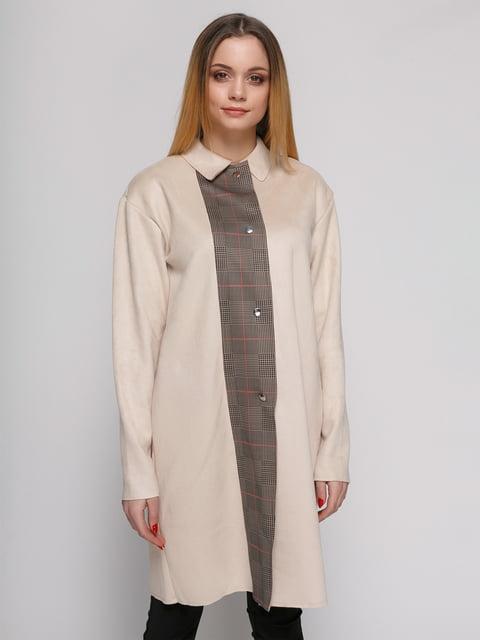 Пальто цвета пудры Zara 4876844