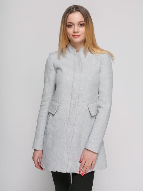 Пальто серое Zara 4876846