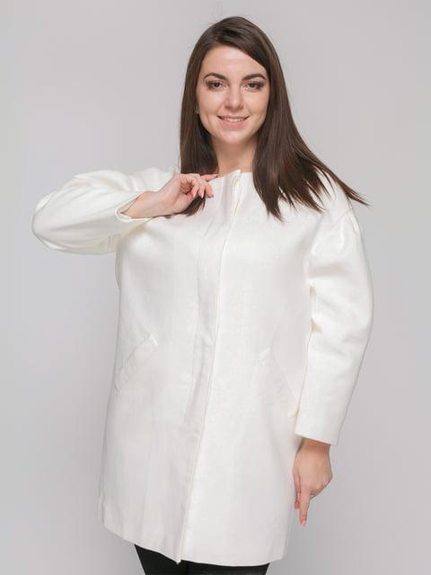 Пальто белое Zara 4875855