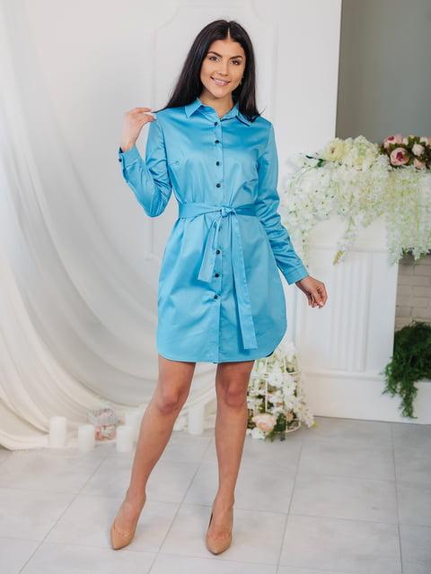 Платье голубое VSV 4907867