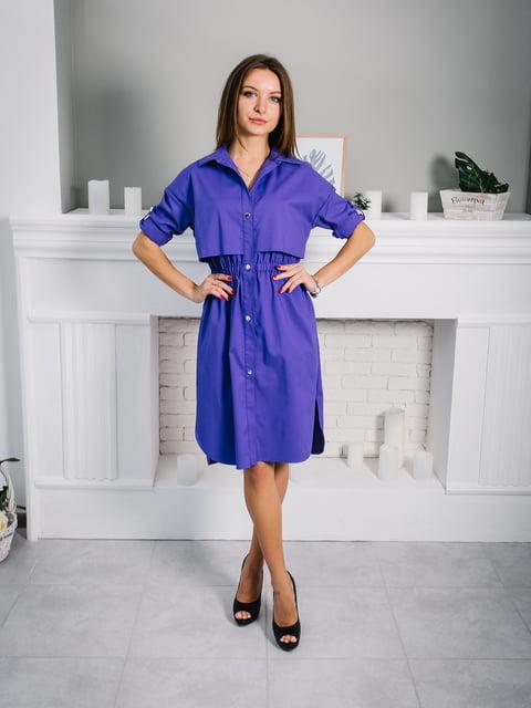 Платье фиолетовое VSV 4907876