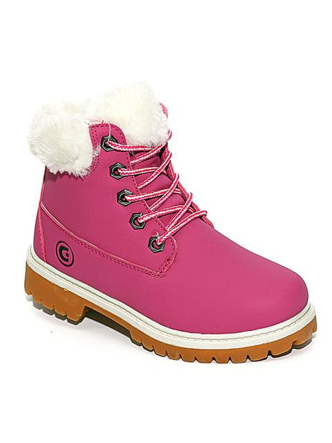 Ботинки малинового цвета Giоlan 4908502