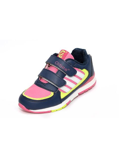 Кросівки синьо-рожеві Clibee 4908848
