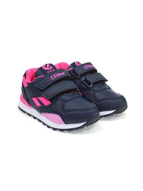 Кросівки синьо-малинового кольору Clibee 4908863