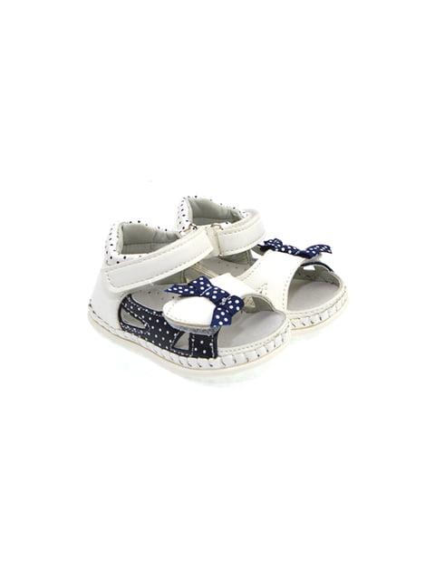 Пінетки-сандалі біло-сині Maiqi 4908985