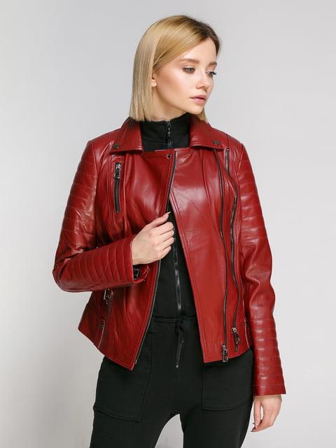 Куртка бордова Gessada 4906726