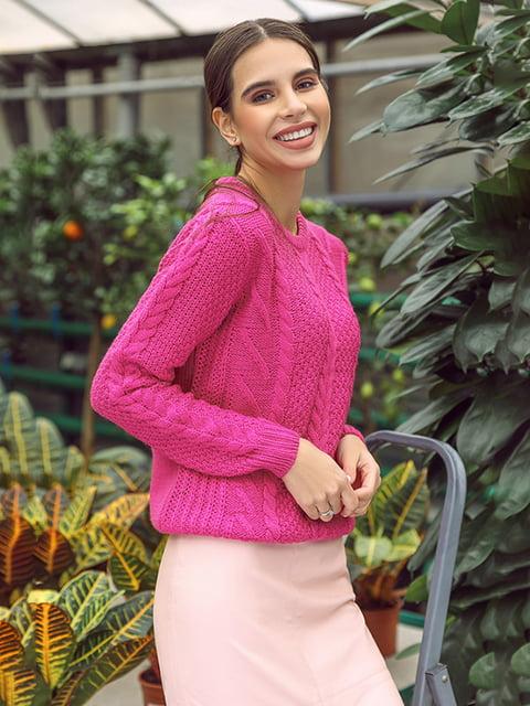 Джемпер рожевий Gepur 4839678