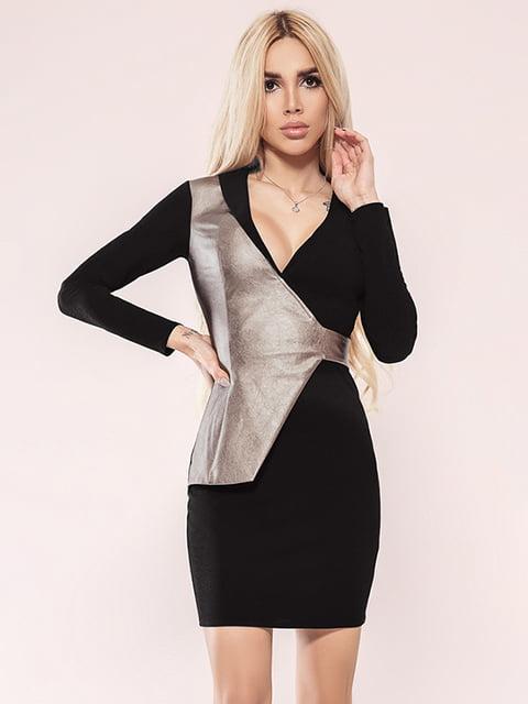 Платье черное Gepur 4860158