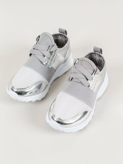Кросівки сріблясті Piazza Italia 4890135