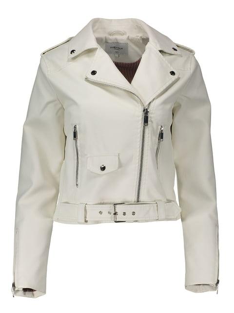 Куртка молочного кольору Piazza Italia 4909357