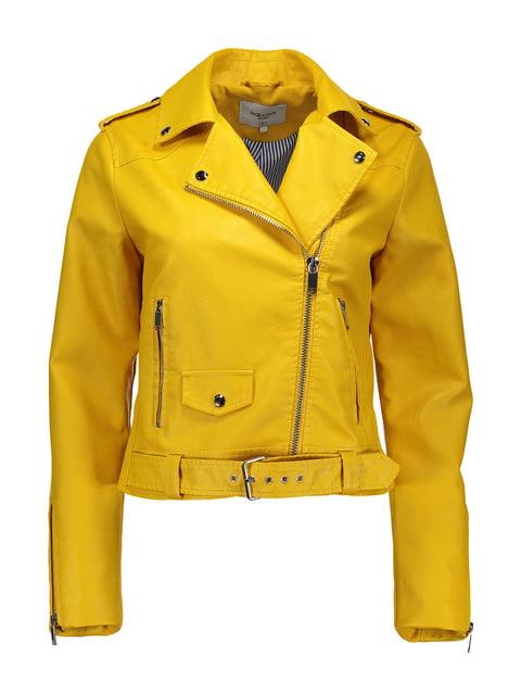 Куртка жовта Piazza Italia 4909360