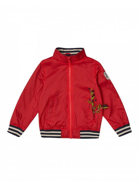 Вітрівка червона Benetton 4885939
