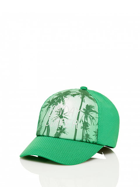 Бейсболка зеленая Benetton 4910582