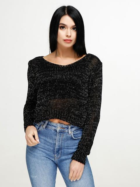 Пуловер черный Favoritti 4911383