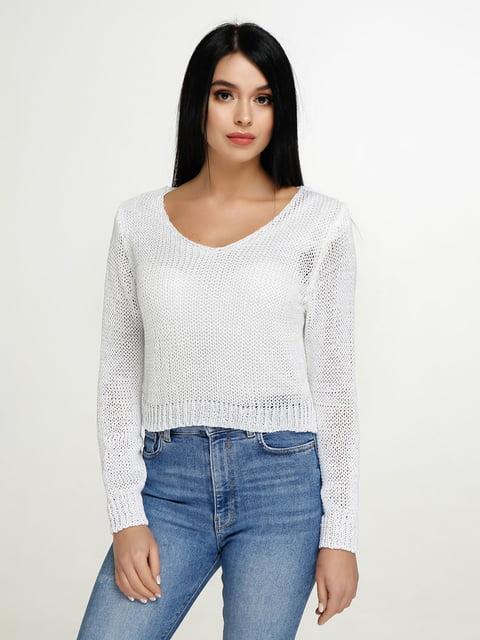 Пуловер белый Favoritti 4911385
