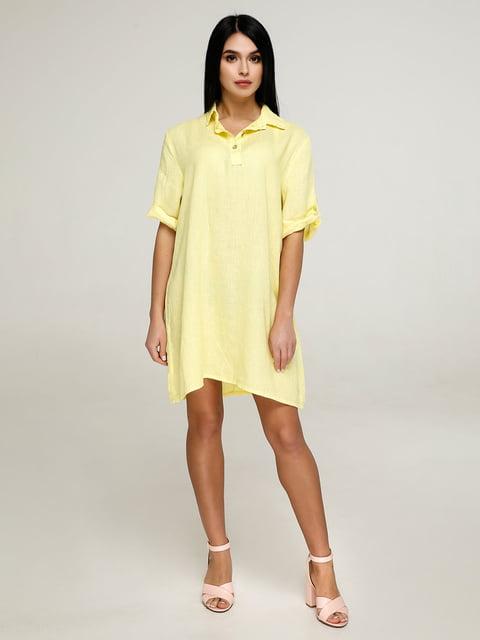 Сукня жовта Favoritti 4911393