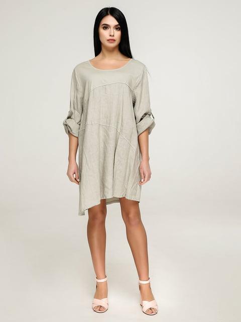 Сукня кольору хакі Favoritti 4911407