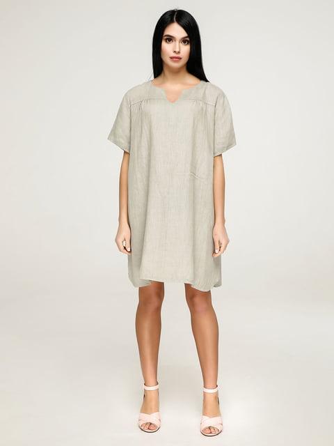 Сукня кольору хакі Favoritti 4911431