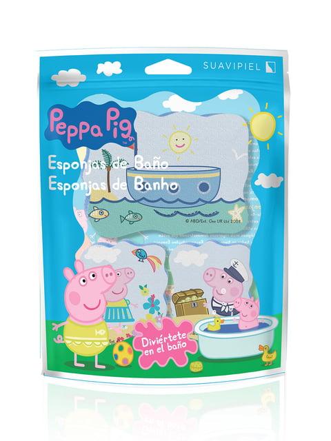 Мочалка «Свинка Пеппа» (3 шт.) SUAVIPIEL 4908322