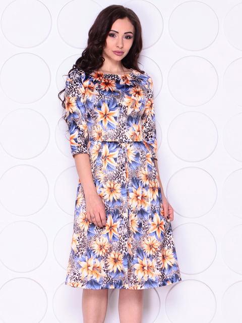 Сукня в квітковий принт Laura Bettini 4911457