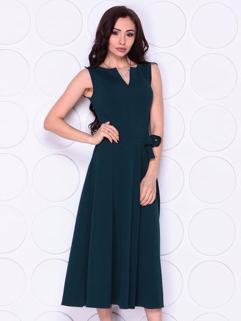 Сукня темно-смарагдового кольору Laura Bettini 4911481