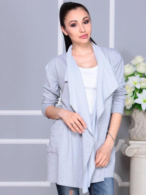 Кардиган светло-серый Laura Bettini 4911515