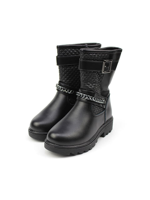 Черевики чорні Clibee 4908499