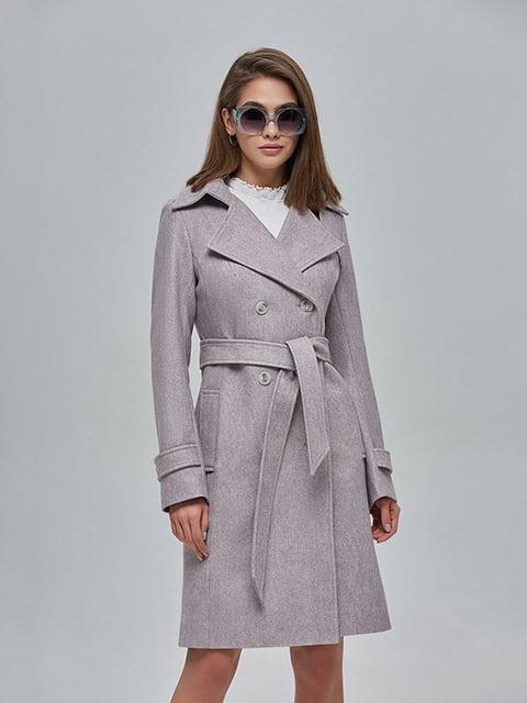 Пальто кольору капучино Mila Nova 4912881