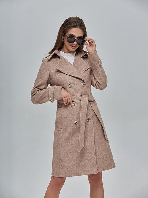 Пальто бежеве Mila Nova 4912882